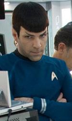 Star Trek: le immagini del dietro le quinte - Il cast sul ponte dell'Enterprise