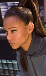 Star Trek: rivelato il cameo di William Shatner - J.J. Abrams e Zoe Saldana (Uhura)