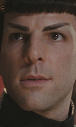 Star Trek: rivelato il cameo di William Shatner - Spock (Zachary Quinto)