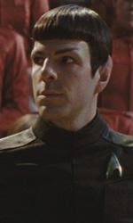 Star Trek: rivelato il cameo di William Shatner - Spock (Zachary Quinto)