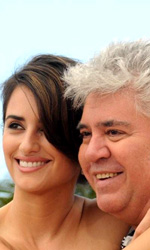 Los Abrazos Rotos, photocall - Pedro Almodvar con Penelope Cruz