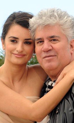 Los Abrazos Rotos, photocall - Penelope Cruz e Pedro Almodvar