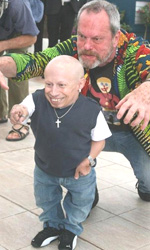 Parnassus - L'uomo che voleva ingannare il diavolo, photo call - Terry Gilliam con Verne Troyer