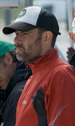 Ex: successo del film di Fausto Brizzi al March� di Cannes - Fausto Frizzi sul set di Ex