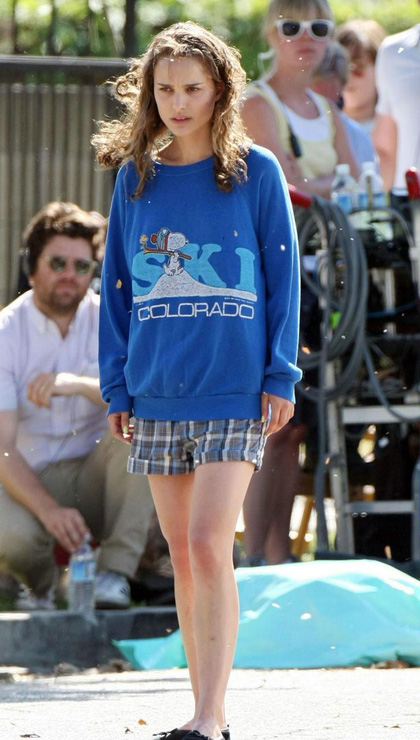 In foto Natalie Portman (36 anni)