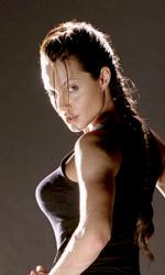 Angelina Jolie non sar� pi� Lara Croft - Lara Croft nella versione di Angelina Jolie