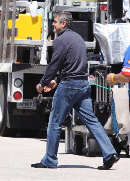 In foto George Clooney (55 anni)