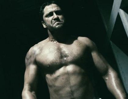 In foto Gerard Butler (47 anni)