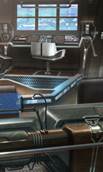 Star Trek: i concept art di James Clyne - Il ponte dell'Iowa