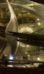 Star Trek: i concept art di James Clyne - La nave a forma di medusa