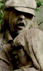Il ladro di fulmini: prime immagini e terzo trailer di Percy Jackson - Delle vittime di Medusa trasformate in statue