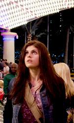 Il ladro di fulmini: prime immagini e terzo trailer di Percy Jackson - Grover, Annabeth e Percy al Lotus Casino di Las Vegas