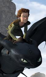 2010: prime immagini dei film della Paramount - Hiccup mentre vola col suo drago