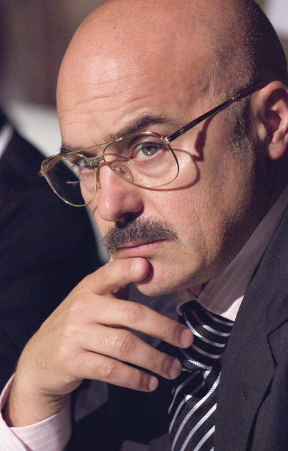 In foto Luca Zingaretti (52 anni)