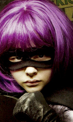 Kick-Ass in una sanguinosa copertina di Empire - Hit Girl (Moretz)