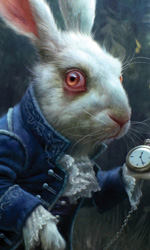 Alice in Wonderland: i concept art e i character still