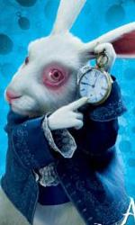 Alice in Wonderland: il poster dello Stregatto e del Bianconiglio