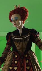 Alice in Wonderland: nuove featurette e 'Almost Alice' di Avril Lavigne - 1� fase della 2� progressione della Regina di Cuori