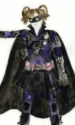Kick-Ass: i concept art e il nuovo red-band trailer - Hit Girl