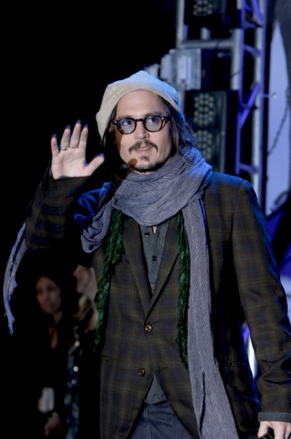 In foto Johnny Depp (53 anni)