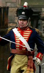Burke and Hare: prime foto dal set londinese di Serkis e Pegg - Il capitano McLintock