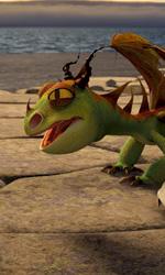 Dragon Trainer: immagini, una clip e le lezioni sull'allenamento coi draghi - Una scena del film