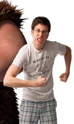 Dragon Trainer: immagini, una clip e le lezioni sull'allenamento coi draghi - Gambedipesce e Christopher Mintz-Plasse
