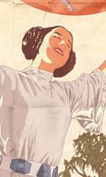 Star Wars: i poster in stile propaganda della seconda guerra mondiale - Il poster dell'Alleanza Ribelle con Leila