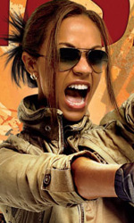 The Losers: sei character poster e nuove immagini - Aisha: ricerca e distruzione
