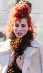 Bel Ami: le foto di Pattinson sul set di Londra e di Budapest - Natalia Tena nei panni della prostitura Rachel
