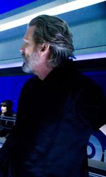 Tron Legacy: il gruppo di Flynn Lives invade la conferenza della Encom - La Wilde, Kosinski e Bridges sul set