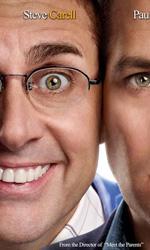 A cena con un cretino: poster e trailer del film con Carell e Rudd - Il remake di