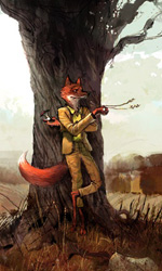 Fantastic Mr. Fox: i concept art di Chris Appelhans - Mr. Fox