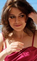 Draquila � L'Italia che trema: il photocall di Sabina Guzzanti - Sabina Guzzanti sulla Croisette