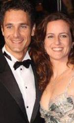 La nostra vita: il red carpet - Raoul Bova e la moglie Chiara Giordano