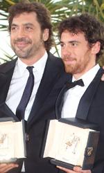 Cannes 2010: Elio Germano miglior attore - Javier Bardem ed Elio Germano