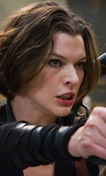Resident Evil: Afterlife, foto di Chris e Claire Redfield ed Alice - Alice in azione