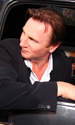 A-Team: Copley e Cooper su un carroarmato all'anteprima mondiale - Liam Neeson