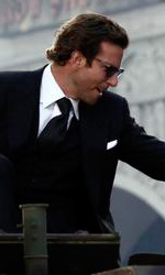 A-Team: Copley e Cooper su un carroarmato all'anteprima mondiale - Bradley Cooper