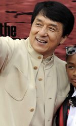 The Karate Kid: La Leggenda Continua: premiere a Los Angeles - Il signor Han, Dre e sua madre