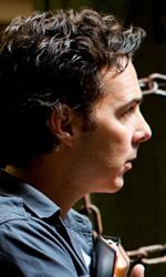 Real Steel: prime foto di Hugh Jackman nel film di Levy - Shawn Levy sul set