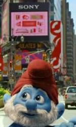 I Puffi: Brontolone, Grande Puffo e Tontolone a Times Square - Dal Medioevo a New York