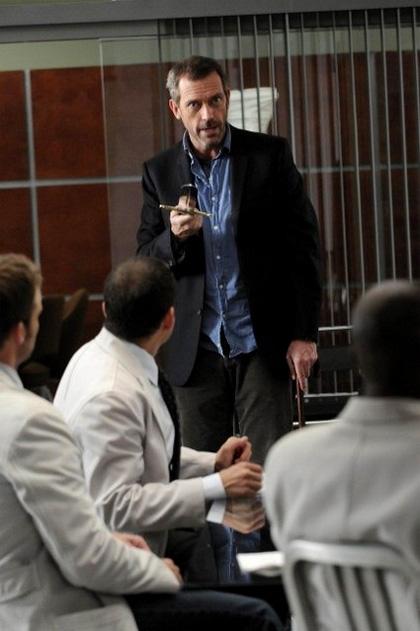 In foto Hugh Laurie (57 anni)