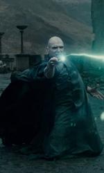 Harry Potter e i doni della morte: solo io posso vivere per sempre - Voldemort mentre combatte contro Harry