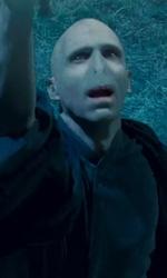 Harry Potter e i doni della morte: solo io posso vivere per sempre - Voldemort mentre congiura un incantesimo