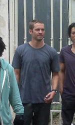 Fast Five: Diesel, Walker, Ludacris, Kang e Gibson sul set - Il cast