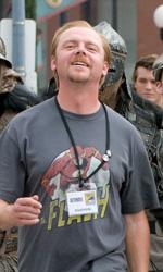 Paul: prime immagini del set del Comic-Con di Pegg e Frost - Un viaggio su strada in compagnia di un alieno