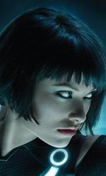 Tron Legacy: il gioco Circuit Cycles indirizza ad un conto alla rovescia - La billboard di Quorra