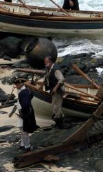 Pirates of the Caribbean: On Stranger Tides, prime foto di Jack Sparrow - Gibbs sul set