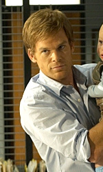 Comic-Con 2010: Dexter, la coscienza � un assassino - Dexter con suo figlio